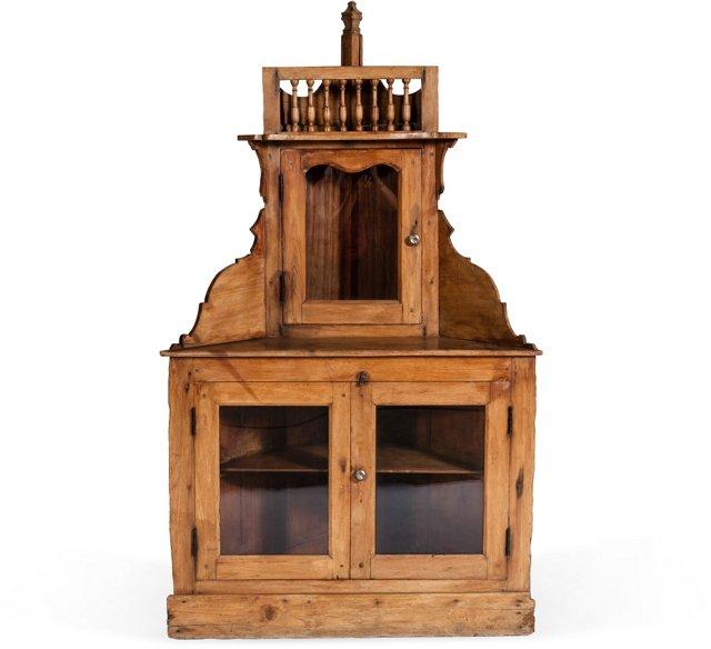 Teak Corner Cabinet I