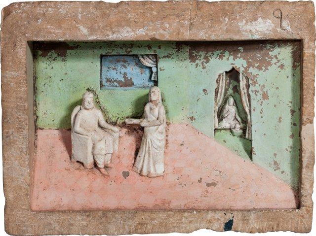 Jain Temple Panel, Devotion