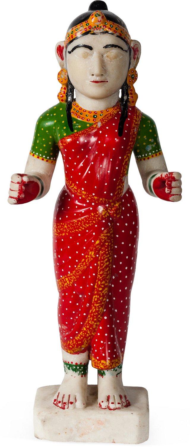 Marble Devi Statue