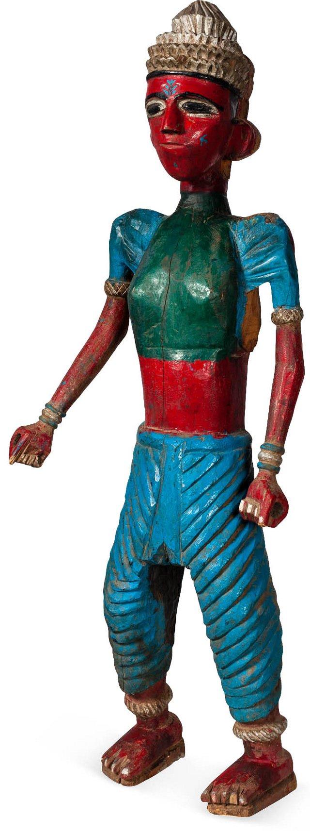 19th-C. Maharashtra Temple Statue II
