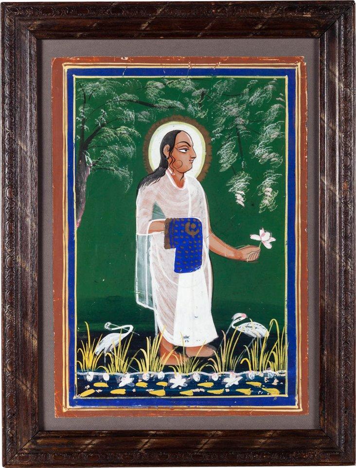 Shri Vallabhacharya Painting I
