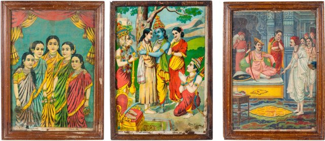1930s Indian Prints, Set of 3