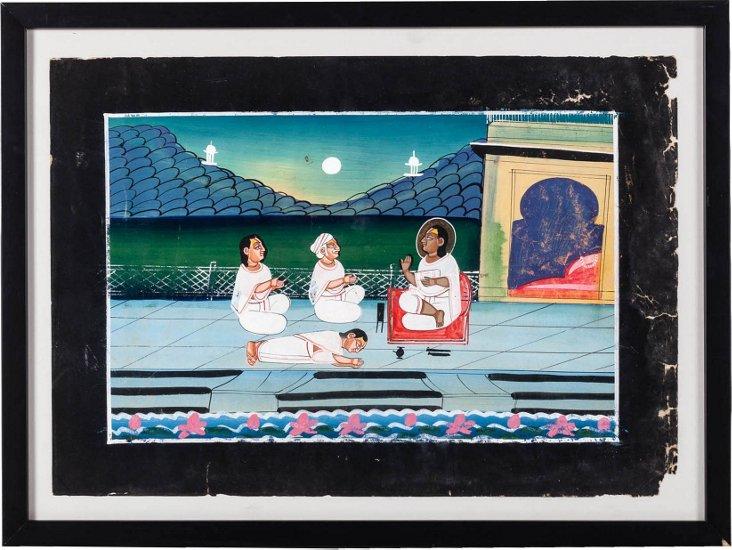 Shri Vallabhacharya Painting II
