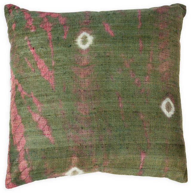 Hand-Spun Silk Pillow