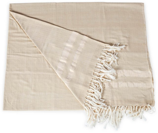 Hand-Loomed Throw-Coverlet II