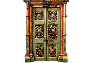 1920s Art Nouveau Door I