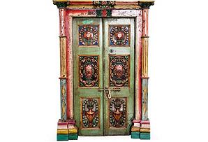 1920s Art Nouveau Door II