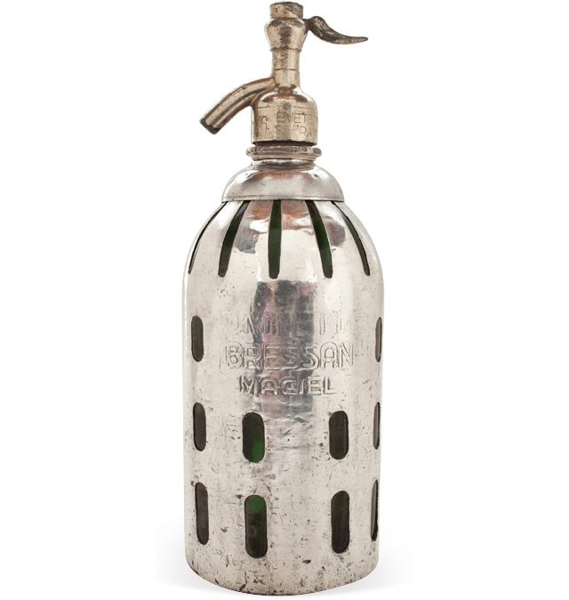 1-Liter Metal Gajos Seltzer Bottle