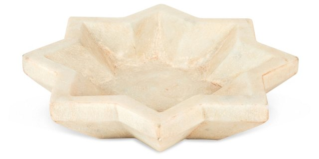 Star Marble Plate
