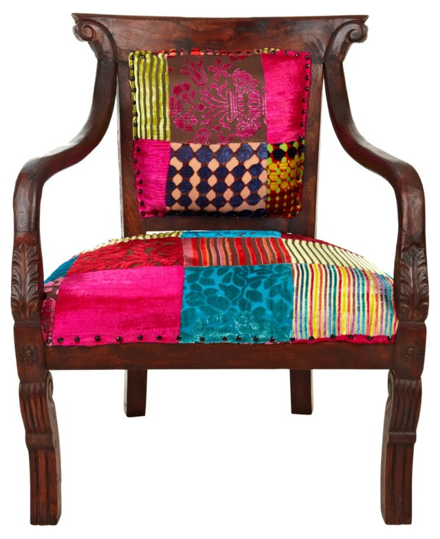 Jaipur Chair, Patchwork