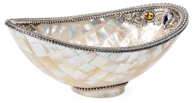 8x5 Mother-of-Pearl Shell Bowl