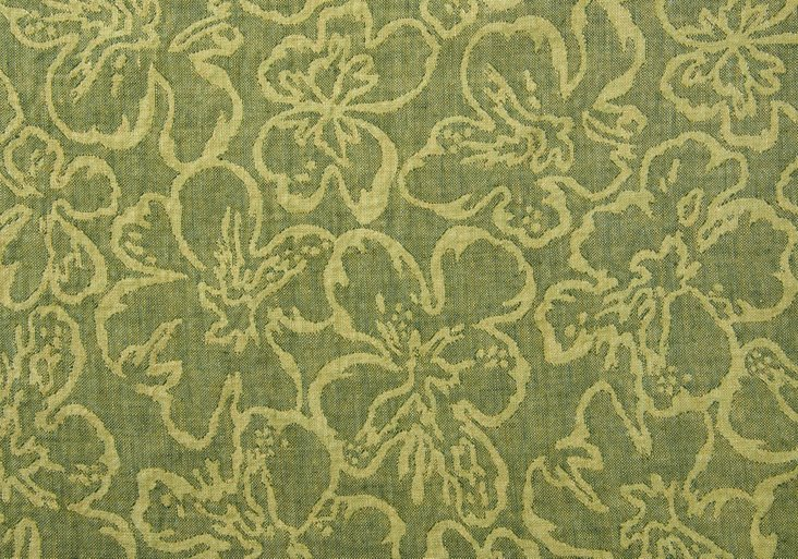 Brianza Floral, Faded Pine, 5 Yds.