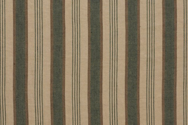 Wellington Stripe, Forest, 5 Yds