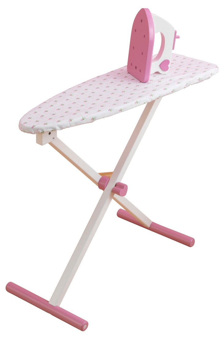 Tiffany Bow Ironing Board, Pink/White