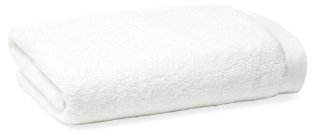 Loop Bath Towel, White