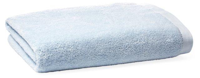 Loop Bath Sheet, Spa Blue
