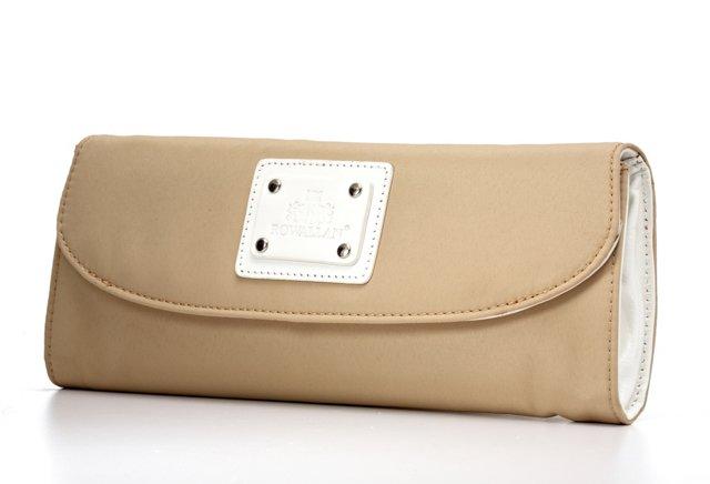 Wallet Clutch, Tan