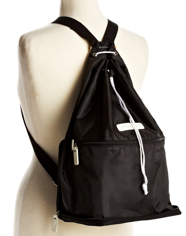 Zip-Out Backpack, Black