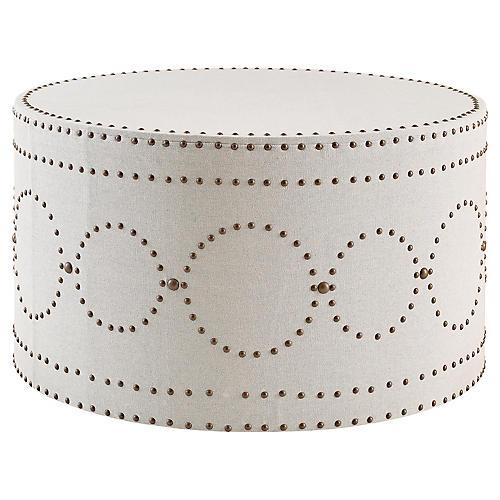 Sienna Coffee Table, Ivory