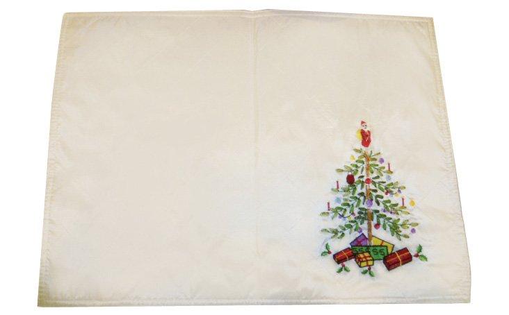 S/4 Spode Christmas Tree Place Mats