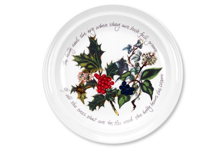 Asst. of 6 Holly & Ivy Salad Plates