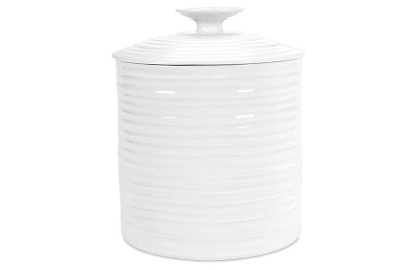 Sophie Conran Canister, White