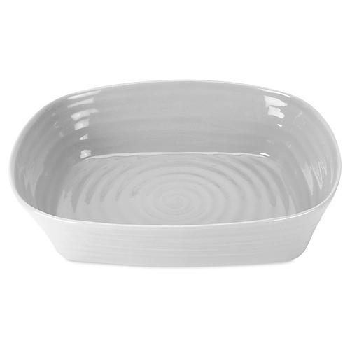 Porcelain Lasagne Baker/Roaster, Gray