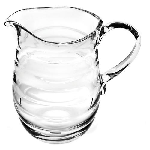Glass Jug w/ Handle, Large
