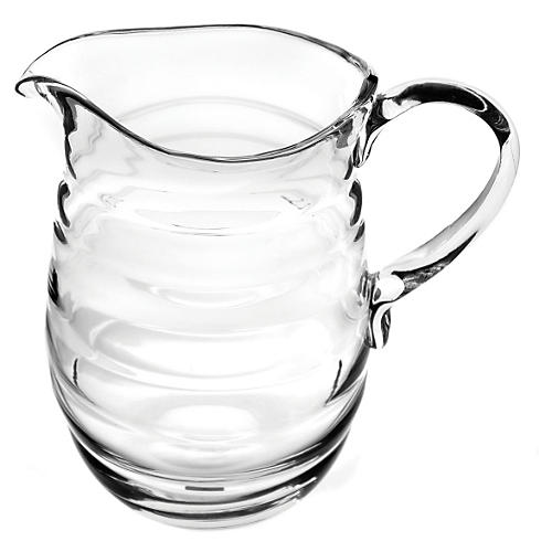 Glass Jug w/ Handle, Large