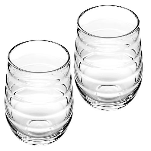 S/2 Balloon Highball Glasses