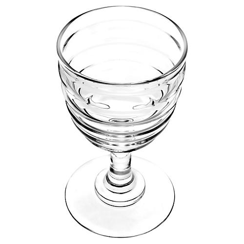 S/2 Glass Red-Wine Glasses