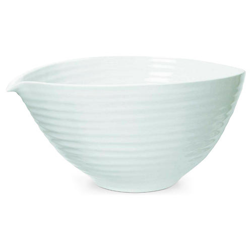 Sophie Conran Lily Serving Bowl, White