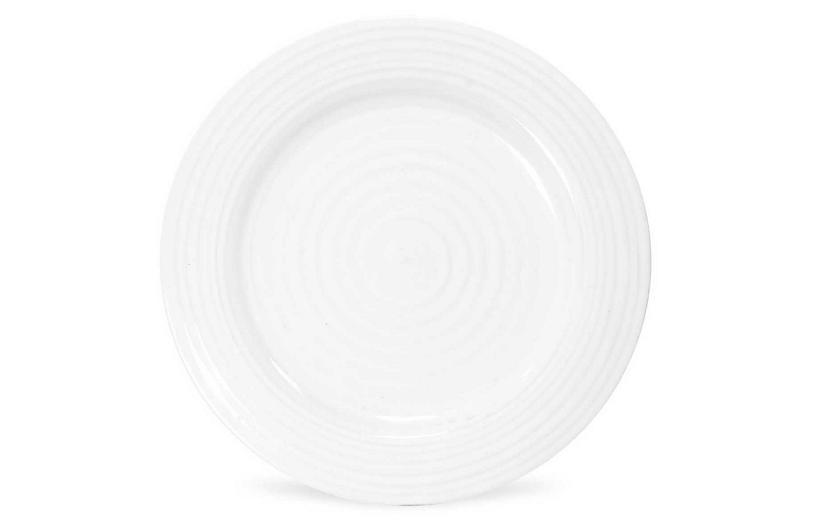 S/4 Sophie Conran Dinner Plates, White