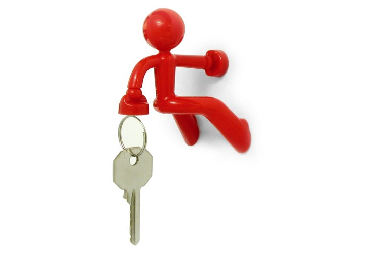 Ultra Magnetic Key Keeper, Red