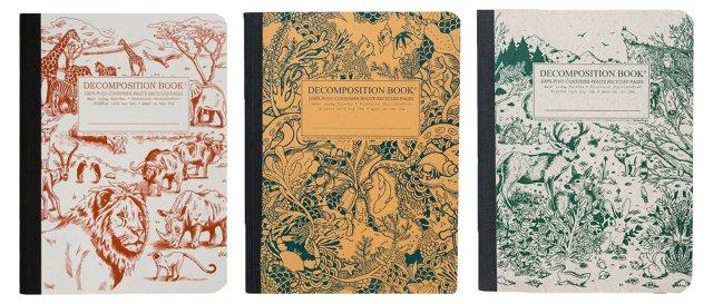 S/3 Notebooks: Animals, Sea, Safari