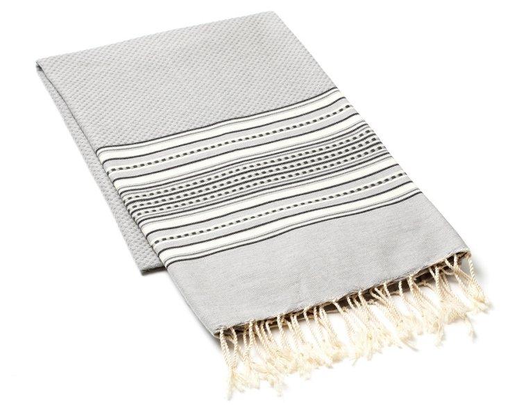 Amarante Fouta Towel, Gray