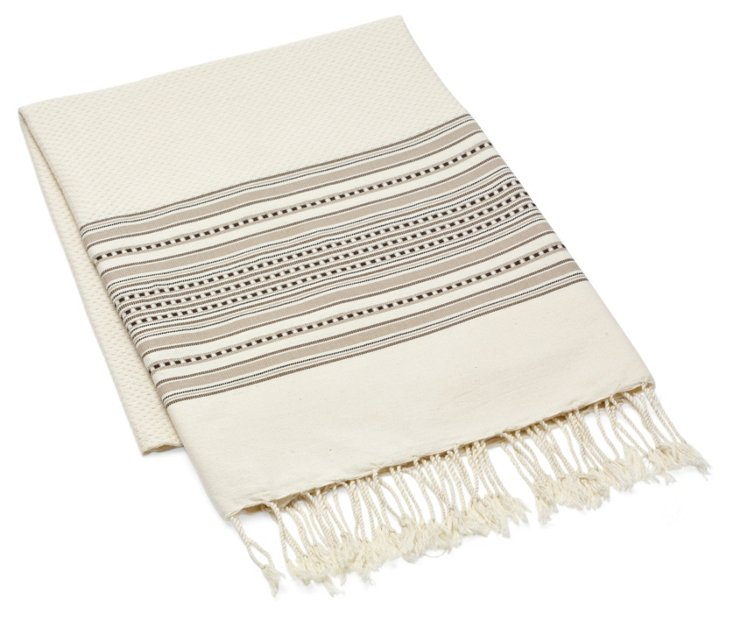 Amarante Fouta Towel, Brown