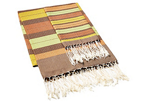 Fouta & Striped Hand Towel, Multi/Verb