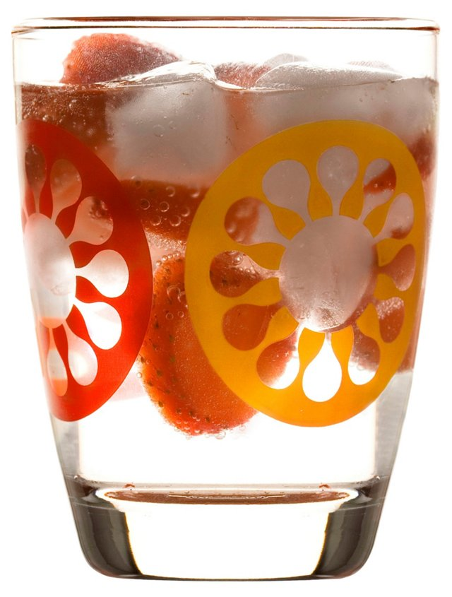 S/4 Juicy Glasses, Red