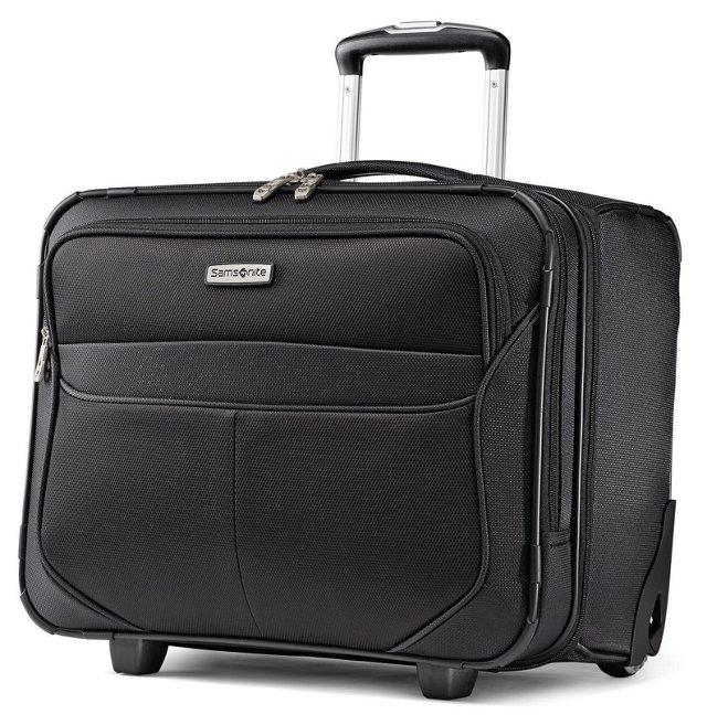 """17.5"""" Lift II Wheeled Board Bag, Black"""