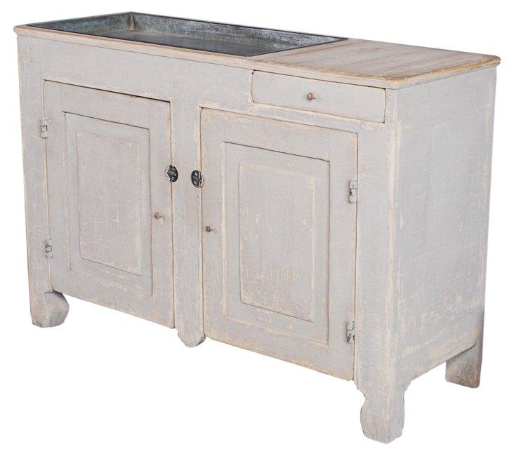 DNU,OAiken Dry Sink Cabinet