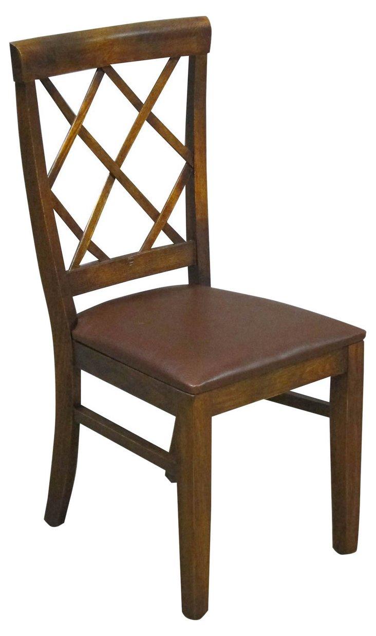 DNUMaynard Chair, Chocolate