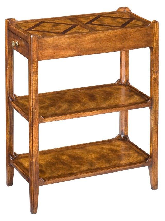 Douglas Side Table, Walnut