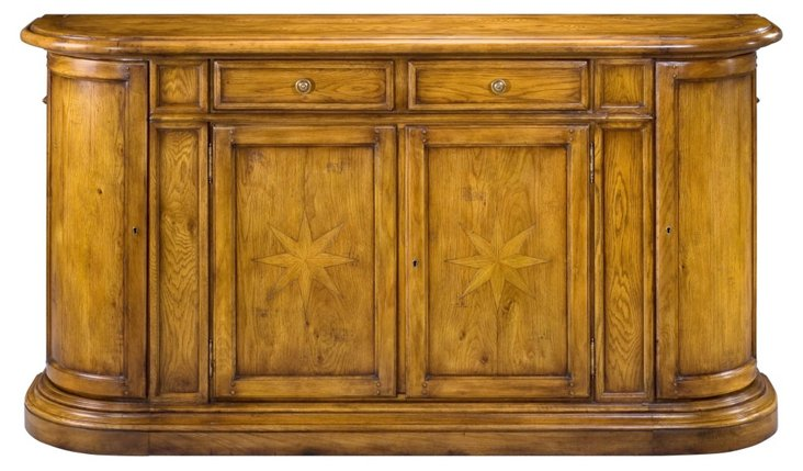 DNU,O, Disc, Salem Sideboard, Honey