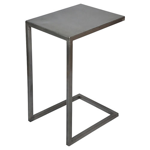 Malcolm Side Table, Gray