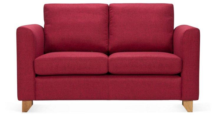 Bergen Sofa, Ruby