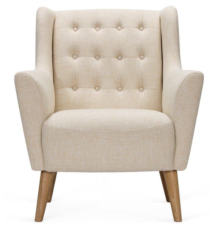 Odense Chair, Ecru