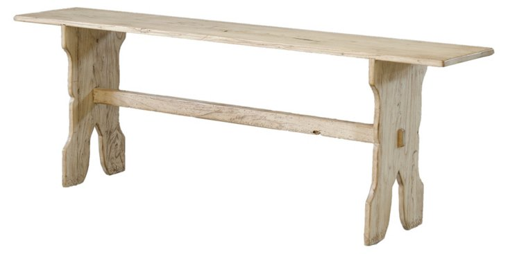 DNU,OLouise Bench, Whitewash