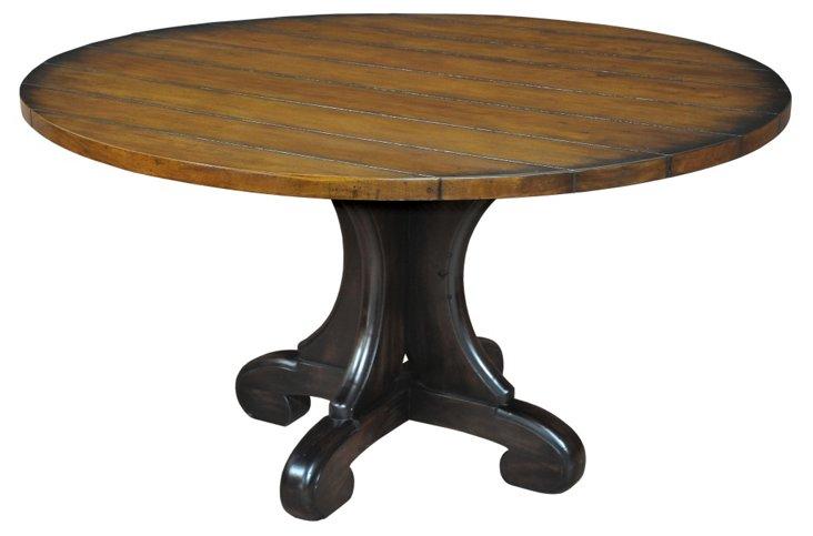 """Isabella 54"""" Round Pedestal Table"""