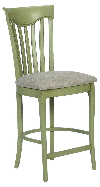 Elyse Counter Stool, Green